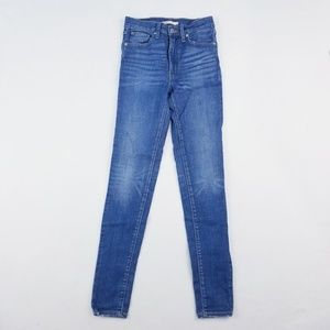 Levi's mile high super skinny 27